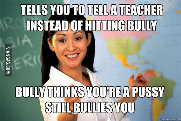 Bullies: Teacher Logic