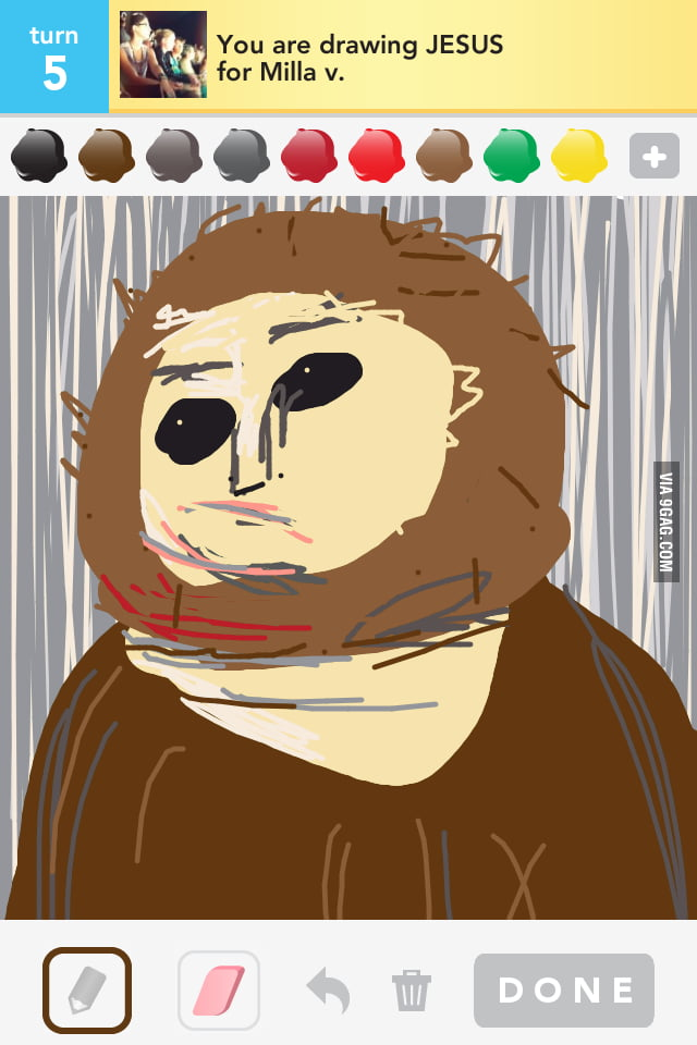 Draw Something Jesus