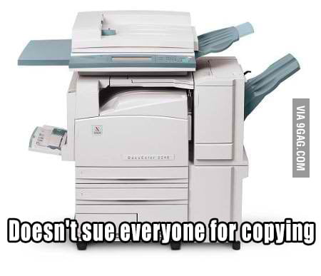 Good Guy Xerox Machine