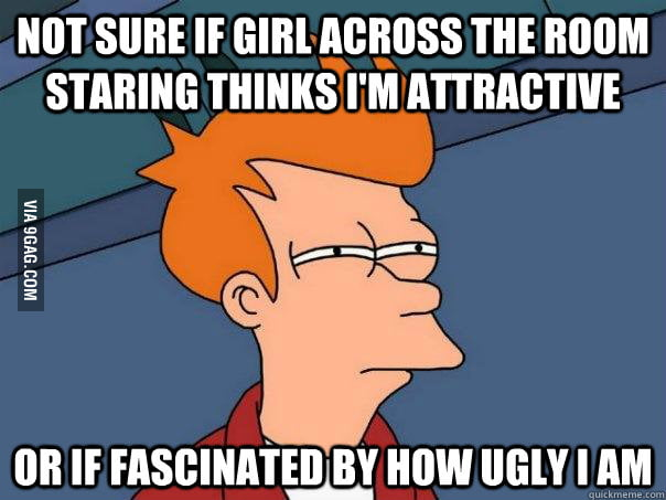 Not sure if I'm attractive or ugly
