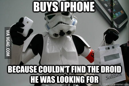 Tech Savvy Storm Trooper