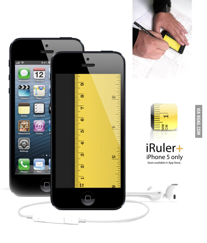 IRuler+ only on iPhone 5