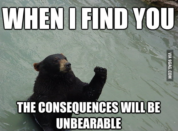 UnBEARable Consequences