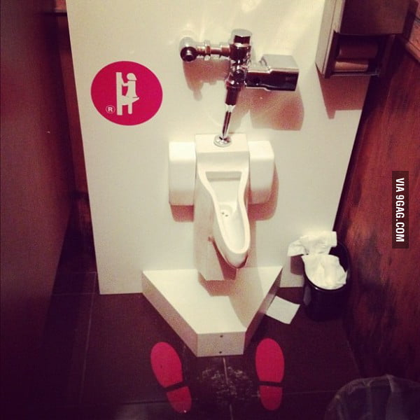 Female Urinal!