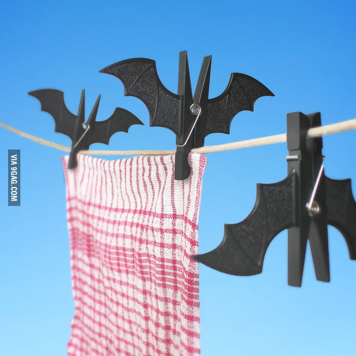 Batman's clothespin!