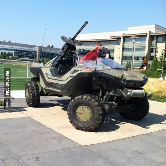 Halo Warthog in real life.