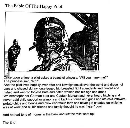 The Fable of the Happy Pilot