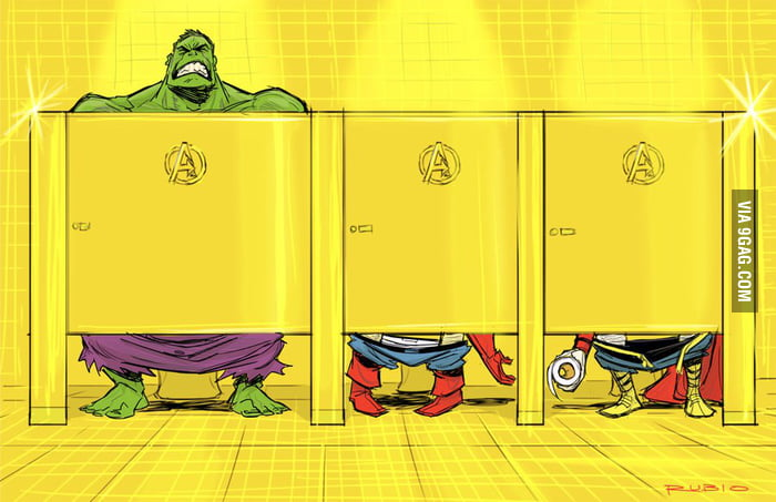 Avenger's Mansion bathroom