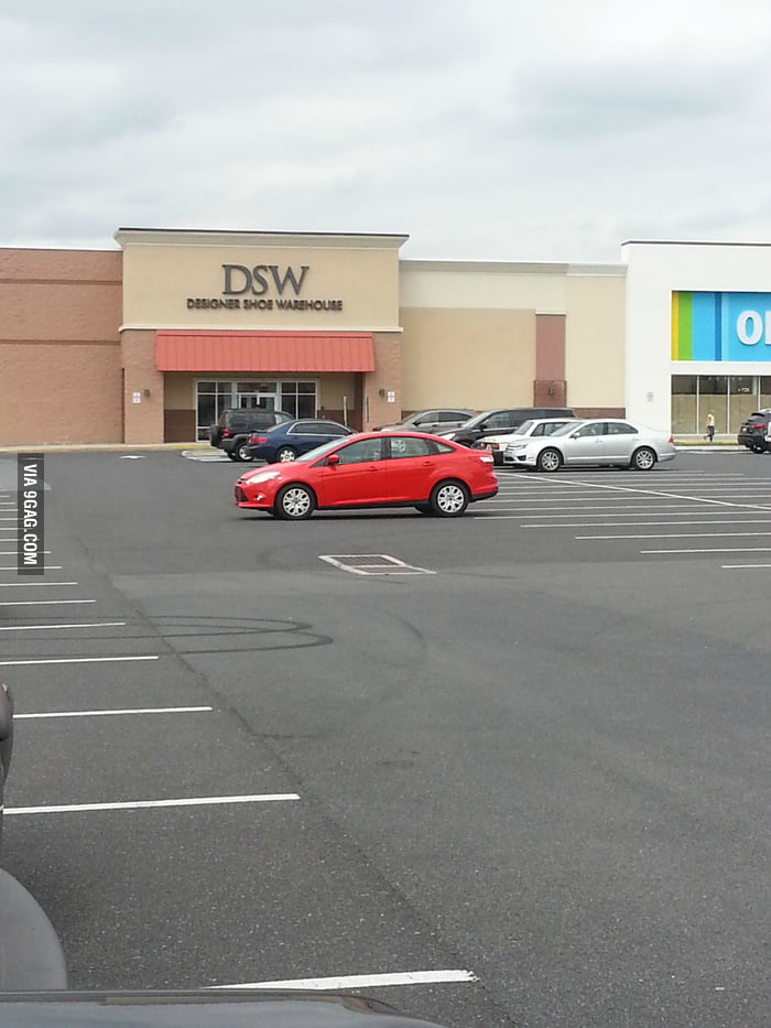 The best parking job ever.