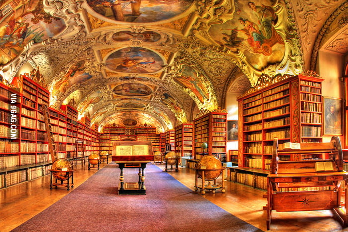 Inside the Strahov Library