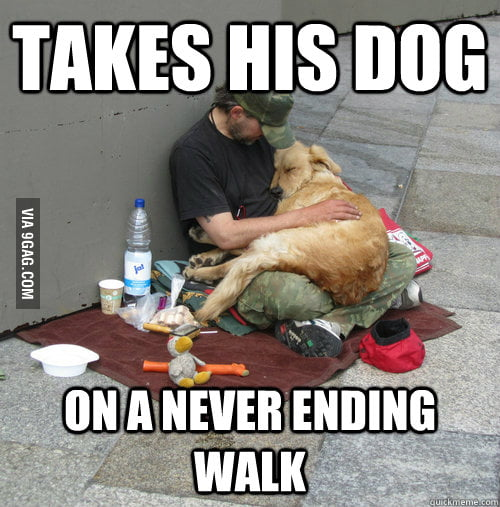 Good Guy Homeless Person