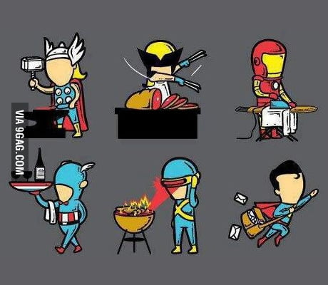 Superheroes Summer Job