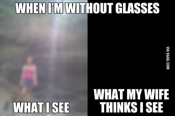 People with glassess understand this.