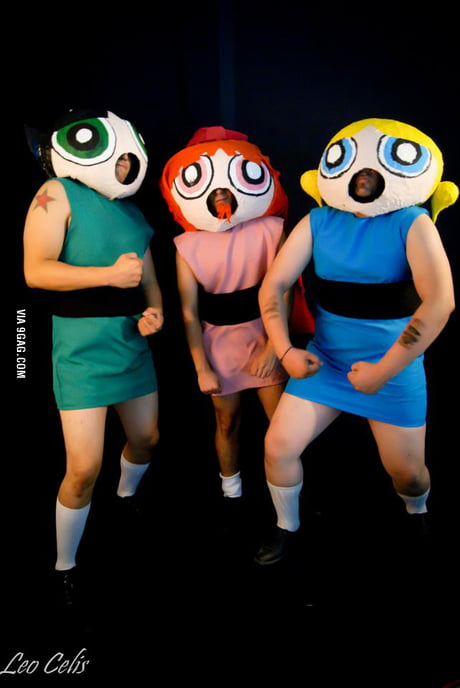 Best Powerpuff Girls Cosplay Ever 9gag