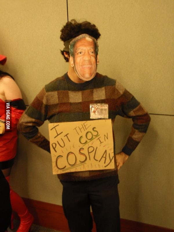 "When I see the word ""Cosplay"""