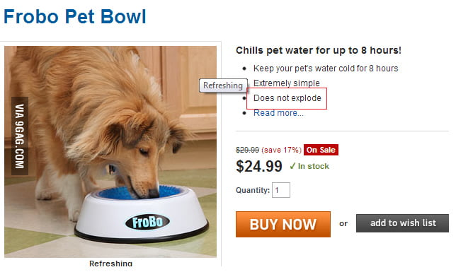 Why don't more dog bowls have this feature?