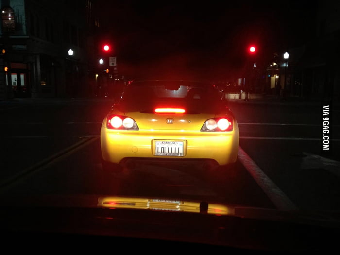Happiest License Plate