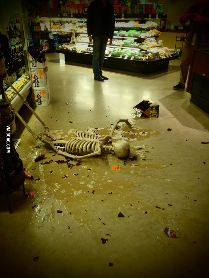 Go home, Skeleton. You're drunk.