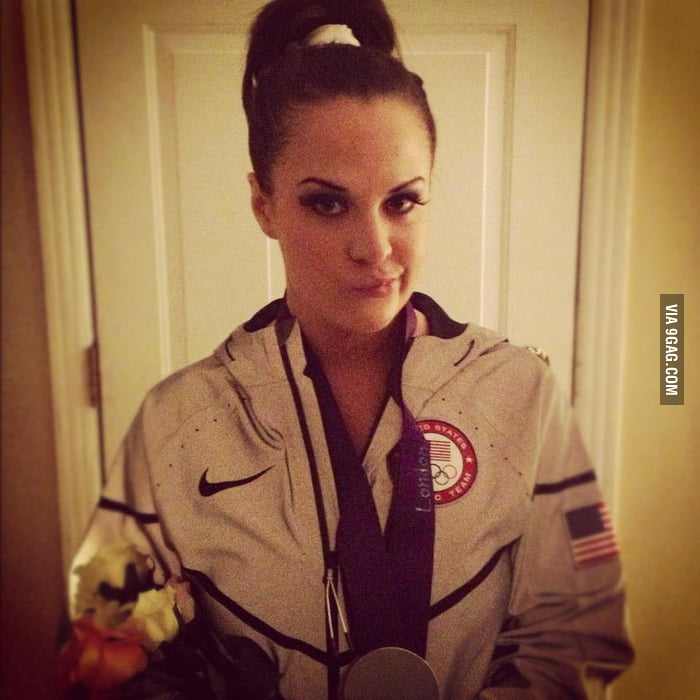 She even got the jacket.