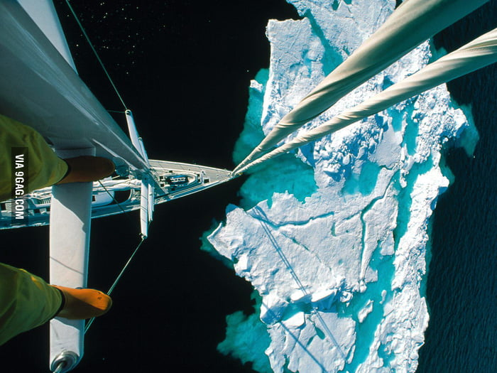 Iceberg from above...