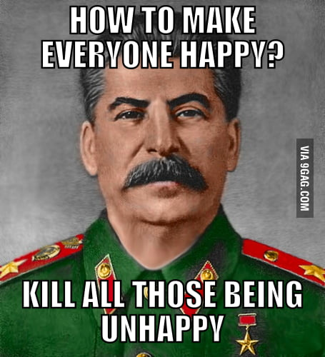 Stalin knew the best