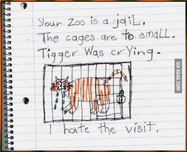 Your Zoo Is A Jail...
