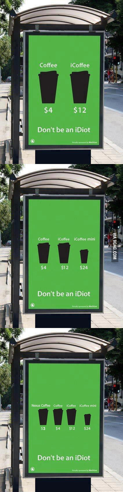 Dont' Be an iDiot...wait