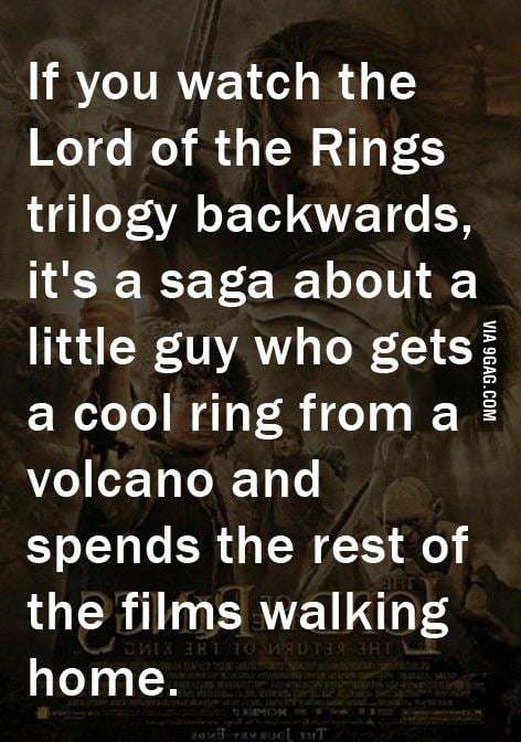 Backward LoTR