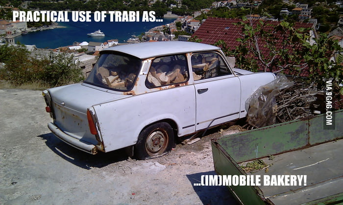 Trabant Mr. Baker