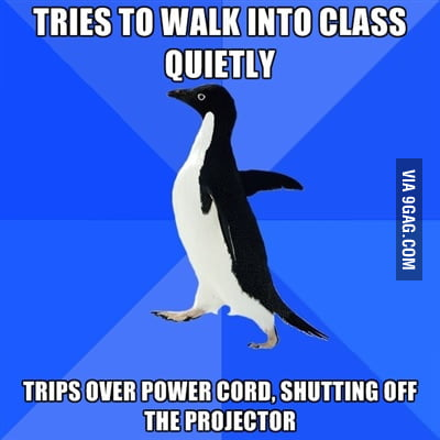 Happened to me in Uni today