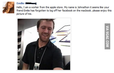 Good Guy From The Apple Store