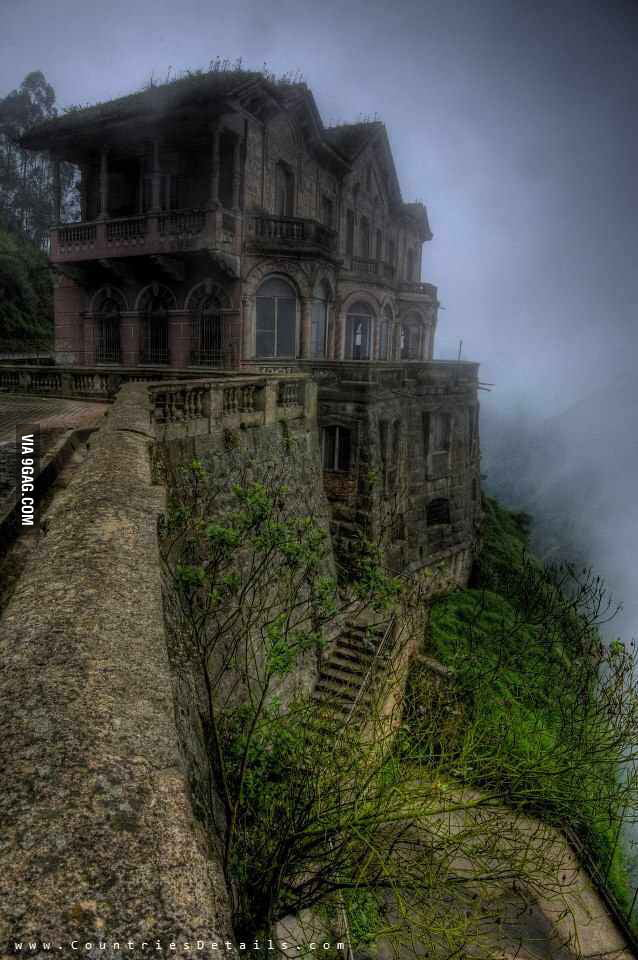 The Hotel del Salto, Colombia
