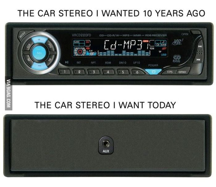 The perfect car stereo