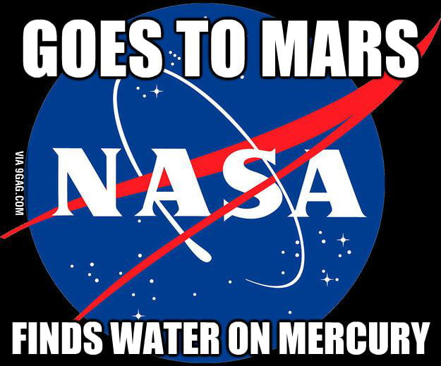 Bad Luck NASA