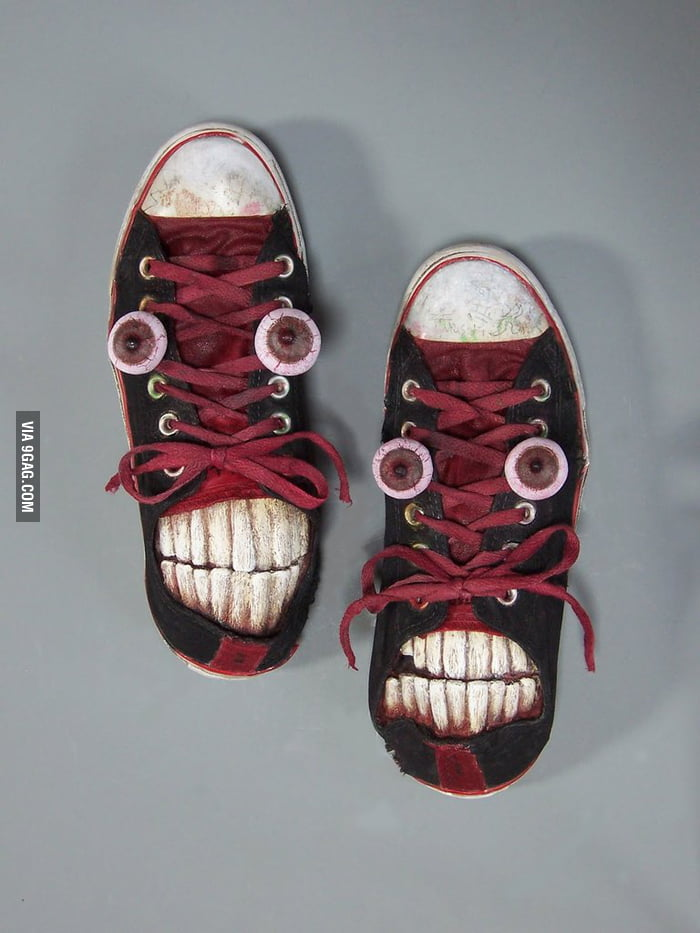 What to do with old shoes.