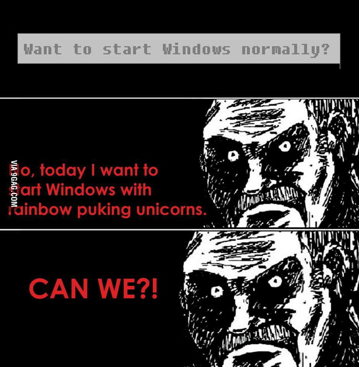 Windows - can we?