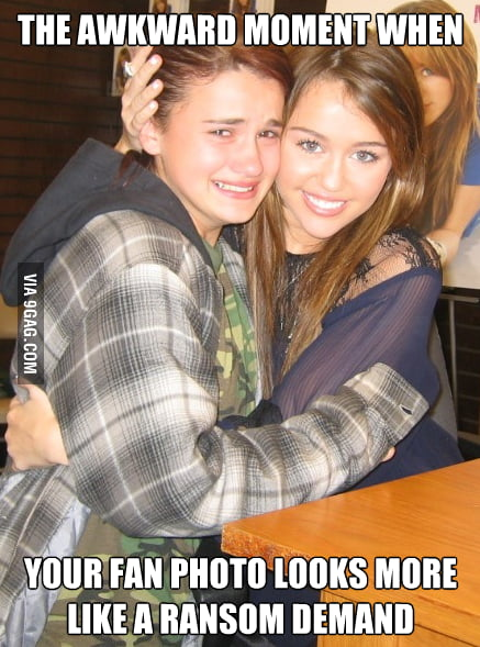 Miley Cyrus' Awkward Moment