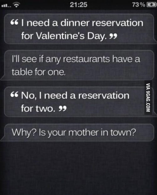 Siri you hurting bastard..