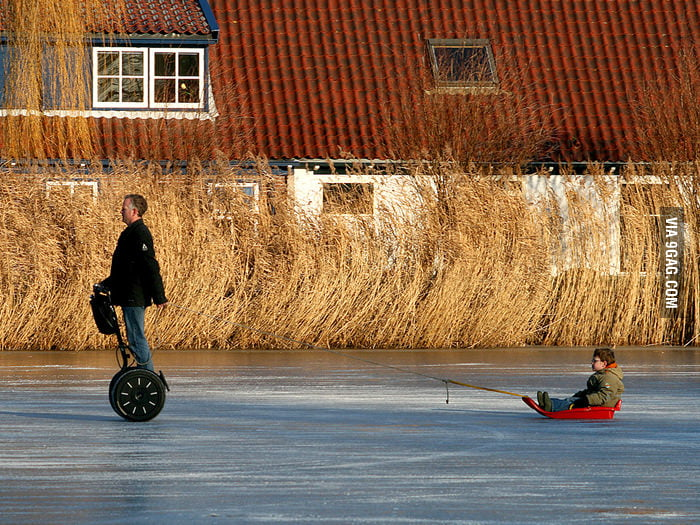 Segway Sledding