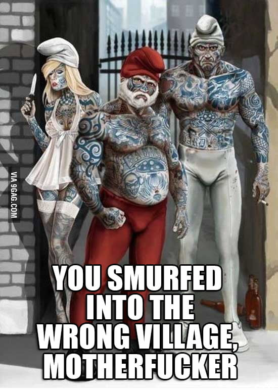 Sh*t Just Got Smurf