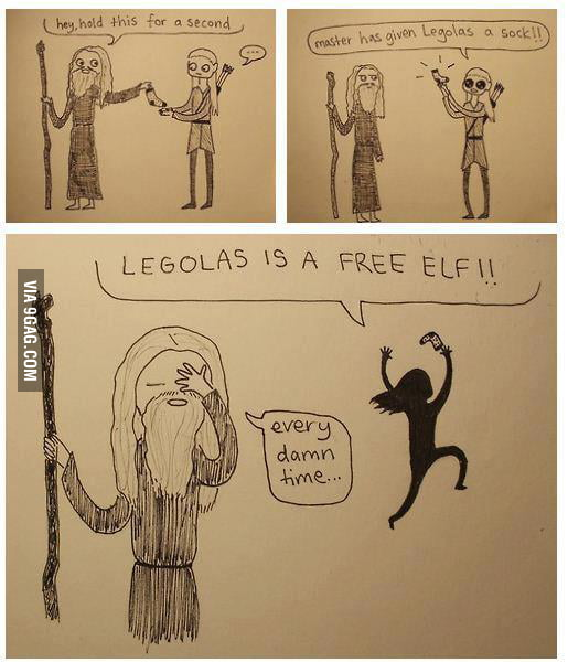 Legolas is a FR