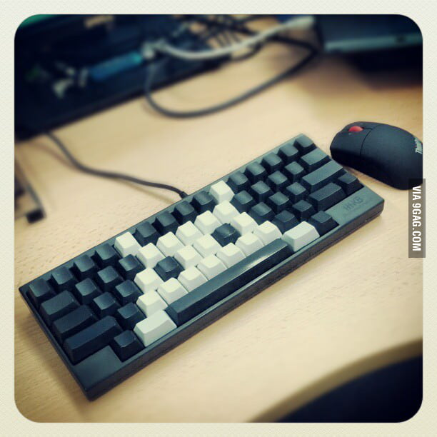 Space Invaders Keyboard
