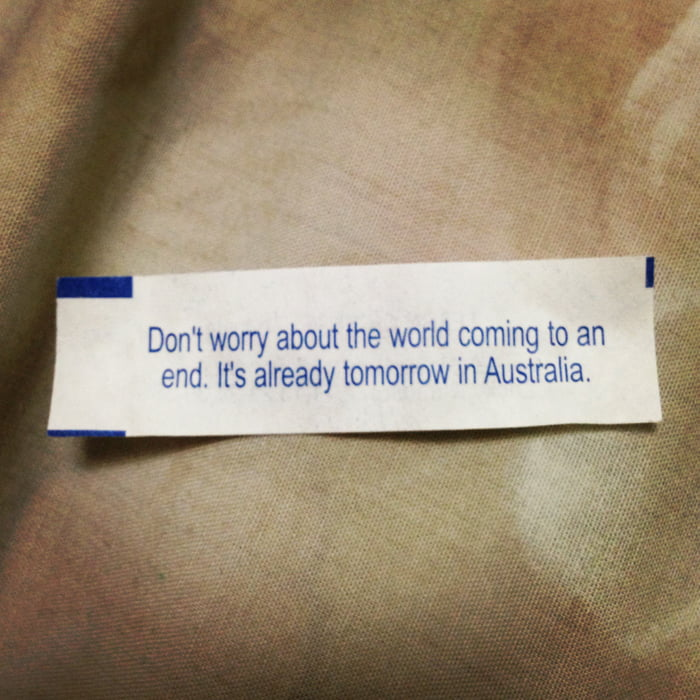 Best Fortune Cookie Ever.