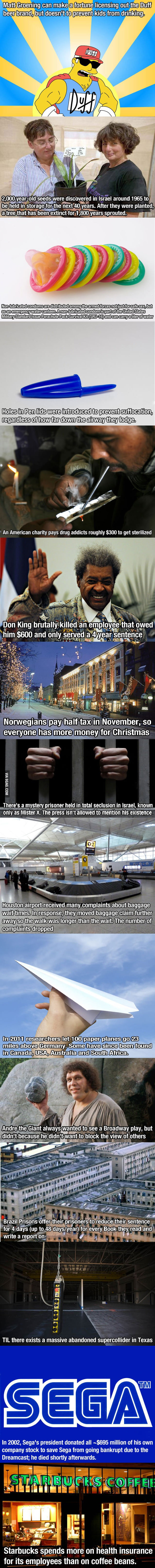 15 facts you wouldn't believe.