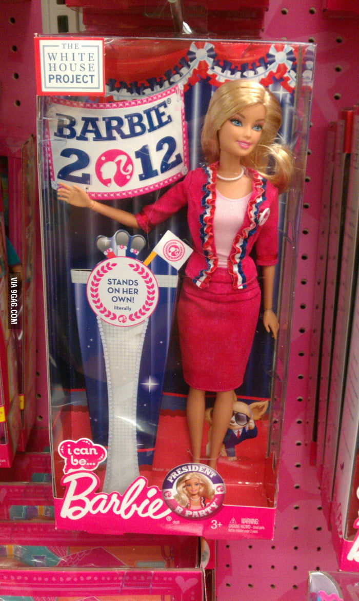 Barbie these days.