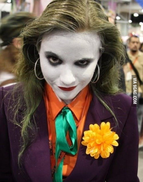Girl Joker.. Daaaammmn