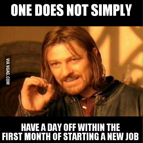 My boss said this to me - not sure if he was jokin