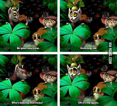 King Julian is the man