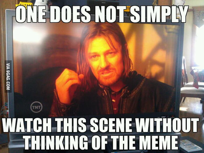 Every time I watch LOTR.