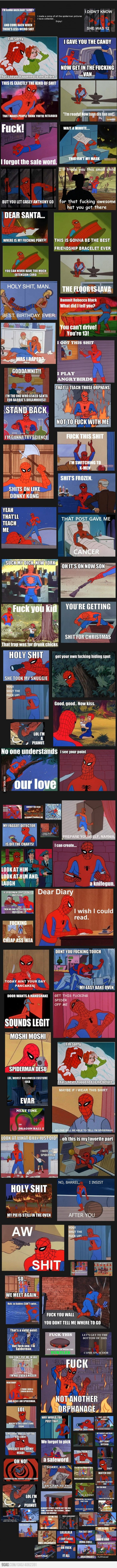 Best of spiderman